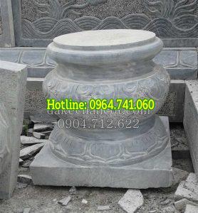 Chân tảng đá kê cột gỗ
