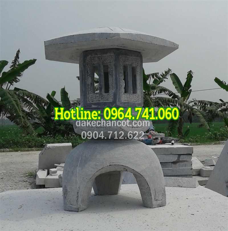 Mẫu đèn thờ đá