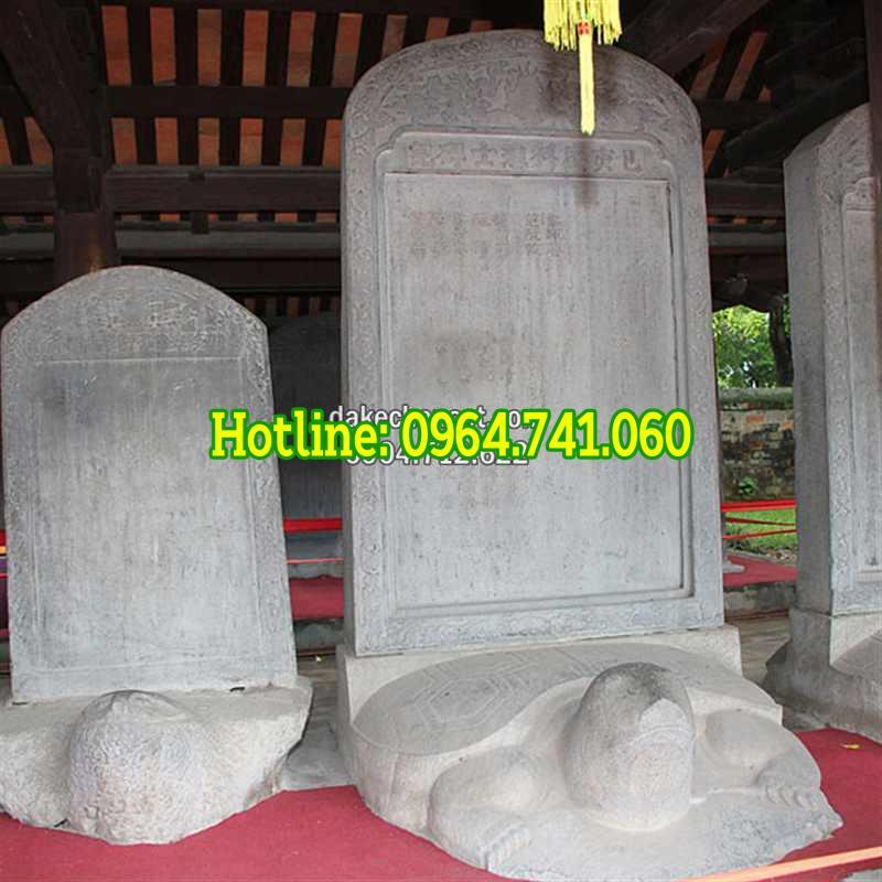 Ý nghĩa rùa đội bia đá hạc thờ đá