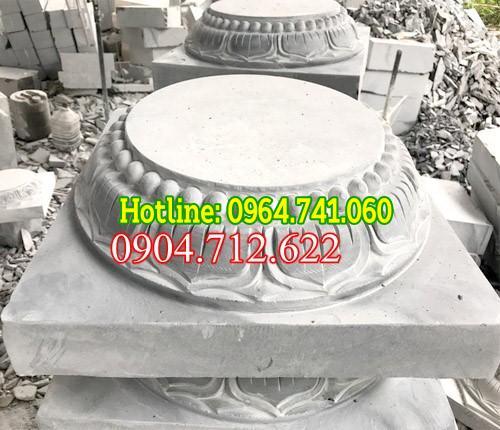 chân cột đá hình tròn , chân cột đẹp cho cột tròn, chân cột tròn, Chân cột tròn đẹp, chân đá kê cột tròn,