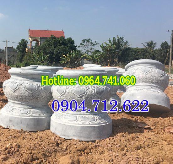Bán mẫu đá kê chân cột gỗ đẹp Kon Tum