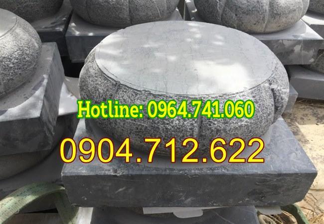 Mẫu đế kê cột đẹp bằng đá khối giá rẻ 05;
